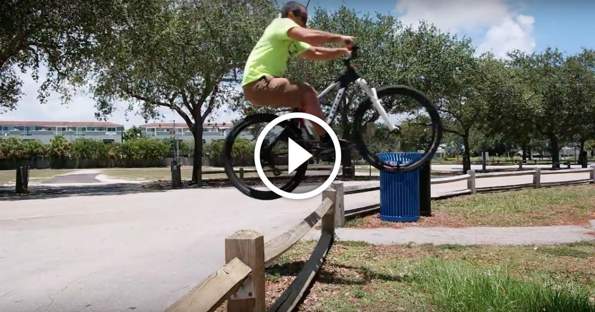 Bunny hop bmx (как делать банни-хоп) видео