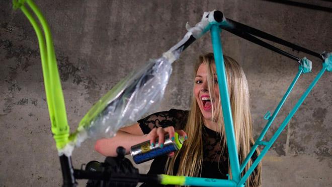Покраска велосипедной рамы в домашних условиях