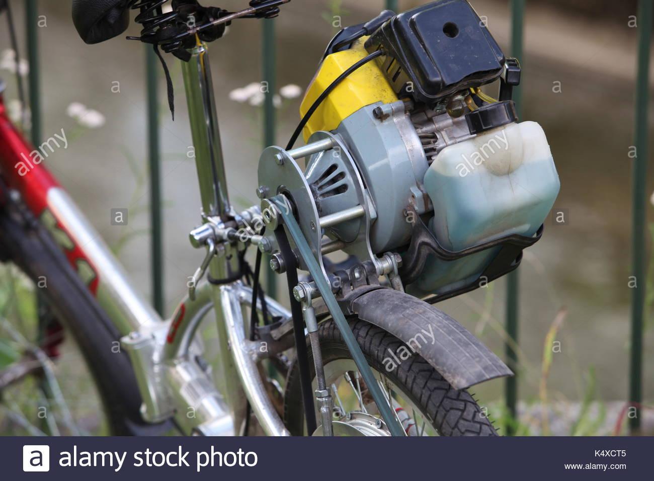 Удивите своих соседей великом с мотором!