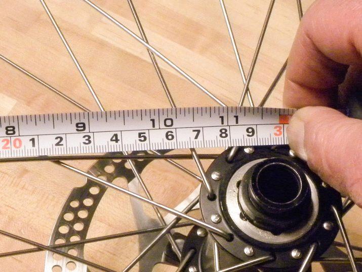 Диаметр велосипедного колеса: способы измерения