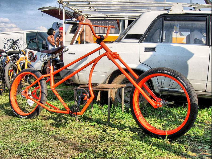 Радуга вколесе. как менялась велосипедная мода