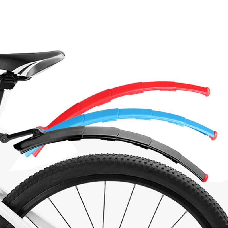 Как установить крылья на велосипед