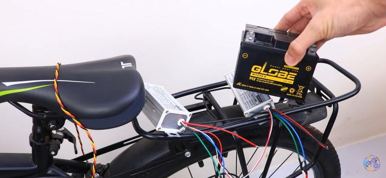 Как сделать электровелосипед своими руками из недорогого комплекта