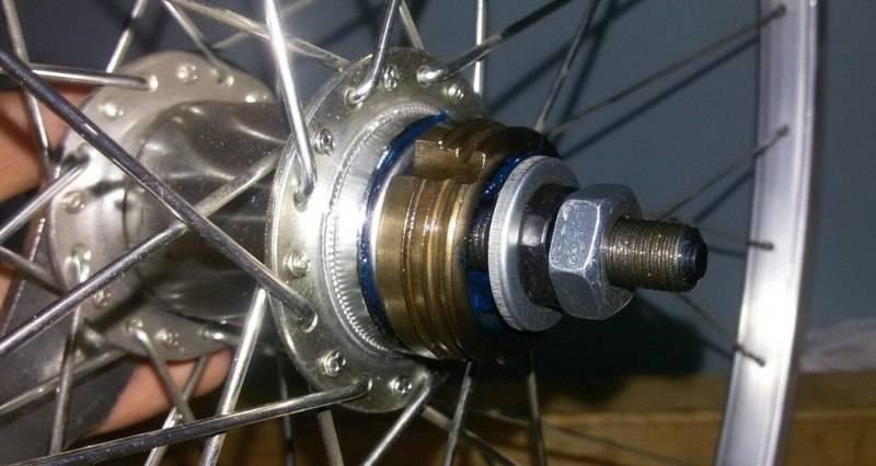 Как разобрать ось заднего колеса велосипеда