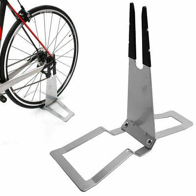 Подставка для велосипеда: стойка напольная, уличная, под заднее колесо
