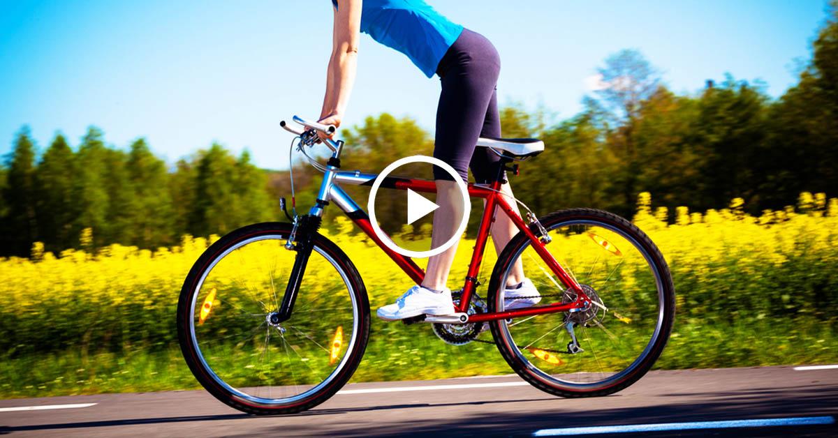 Чем полезен велосипед для женщин