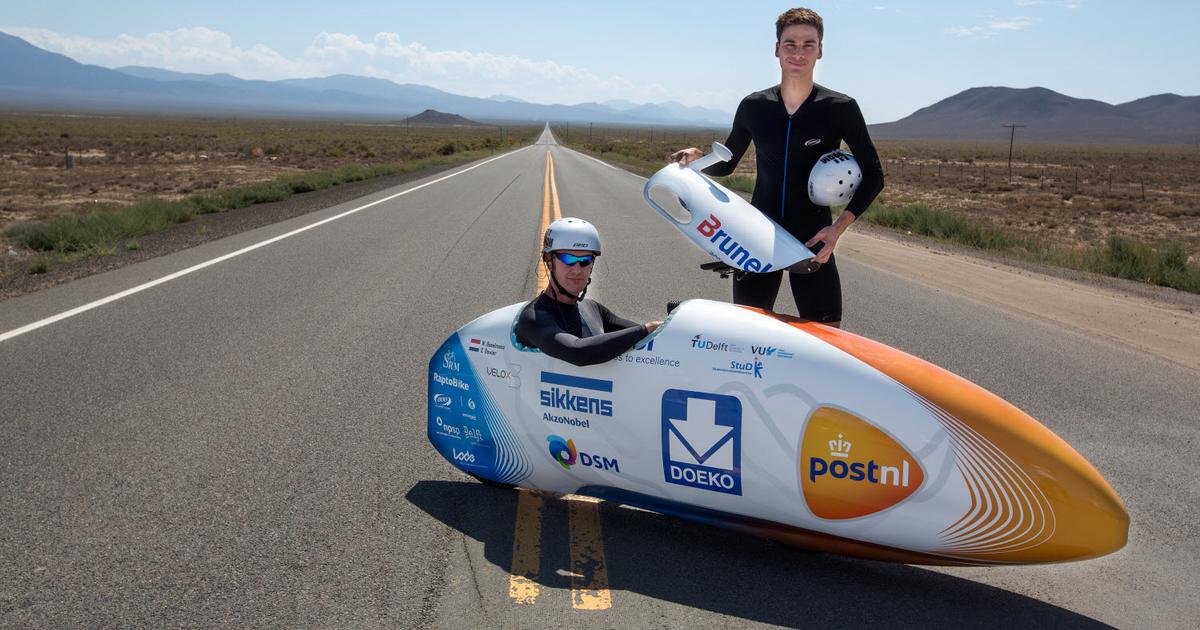 Самый быстрый велосипед в мире без мотора