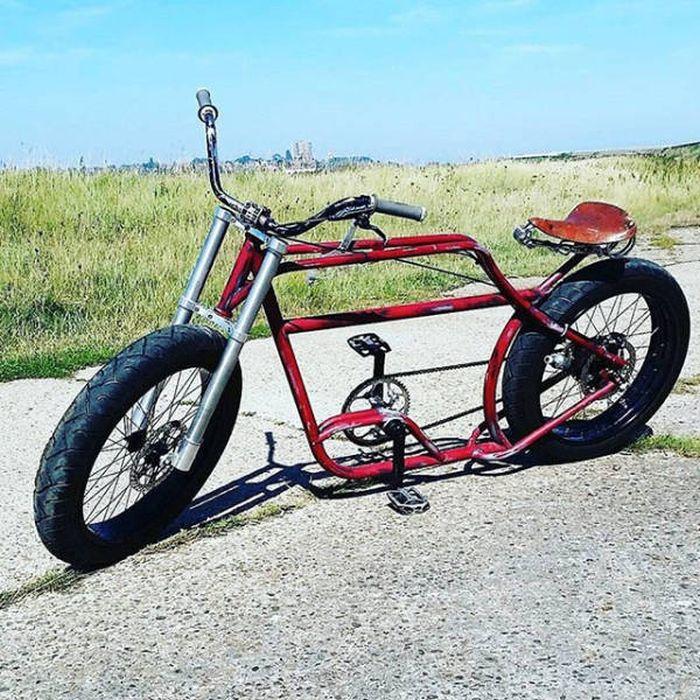 Самые необычные велосипеды фото