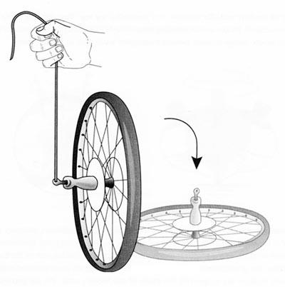 Почему велосипед не падает при езде | разное | veloprofy.com