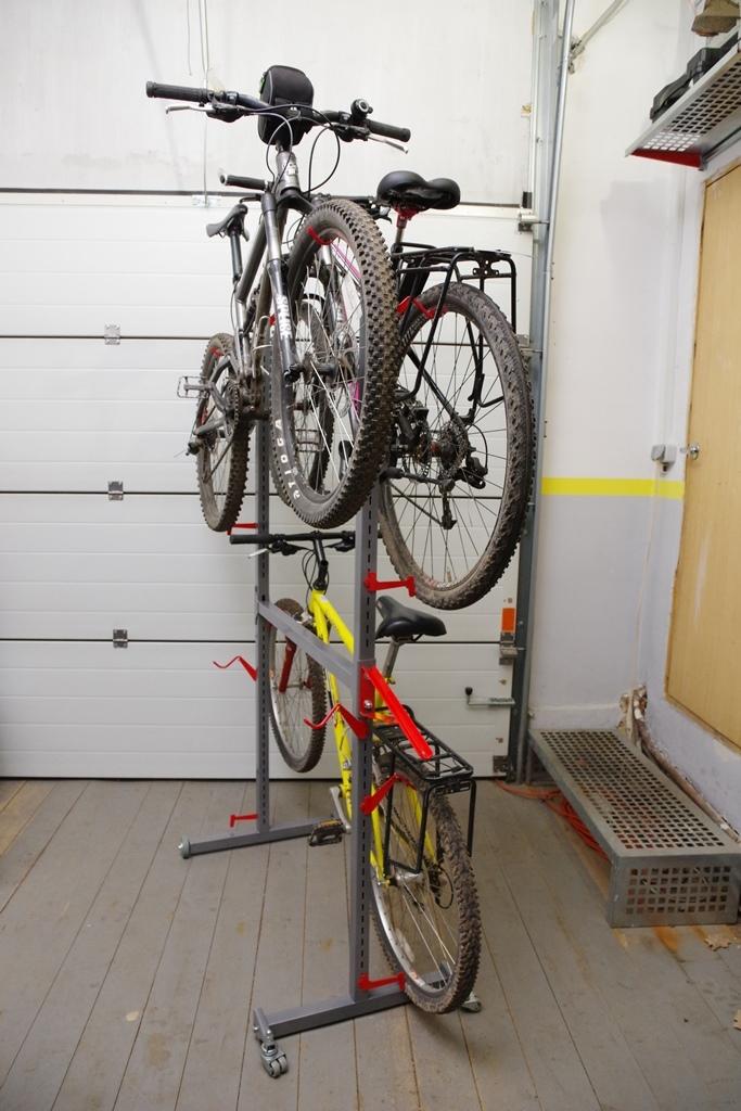 Как сделать подставку для велосипеда