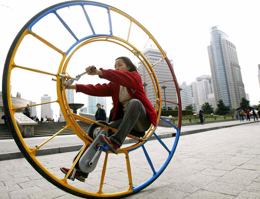 Самые необычные велосипеды мира