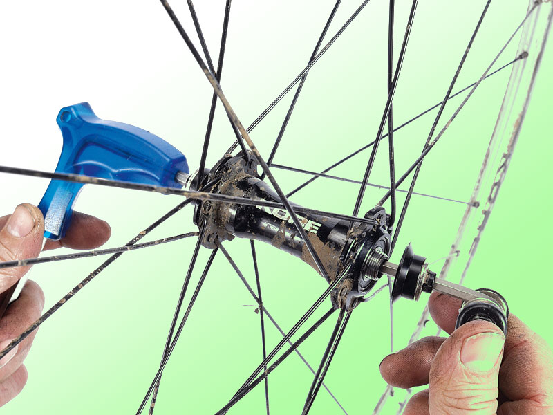 Передняя втулка колеса велосипеда: cборка и ремонт