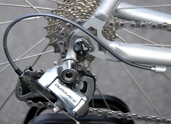 Как установить петух на велосипед