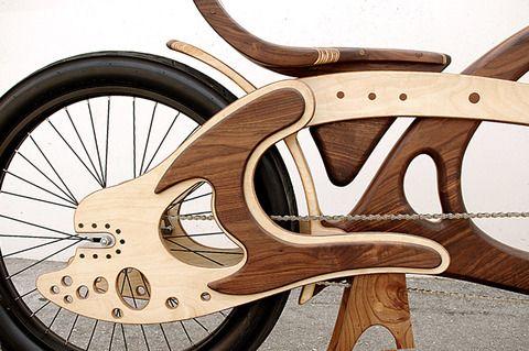 Велосипед из дерева | своими руками