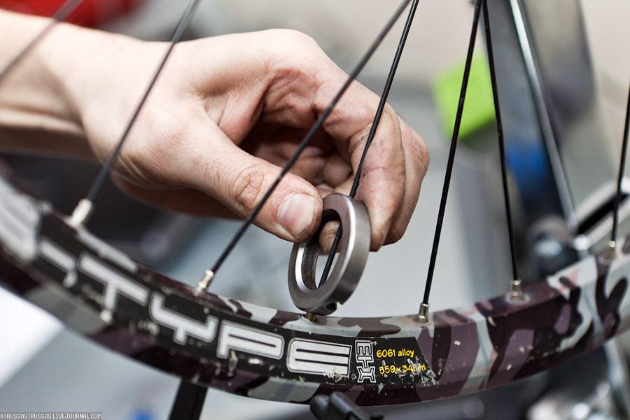 Как правильно переспицевать колесо на велосипеде