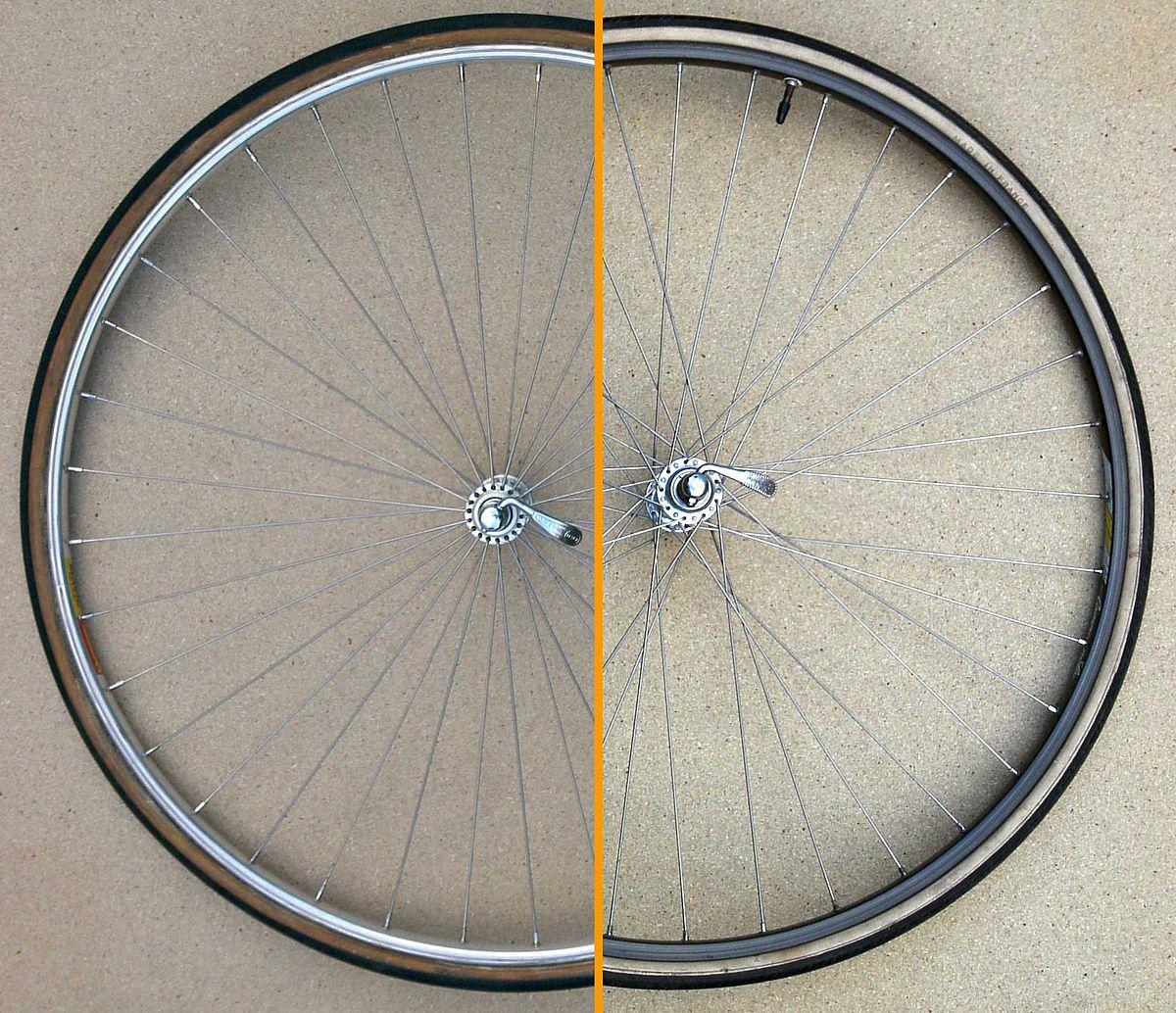 Расчет длины спиц для велосипеда