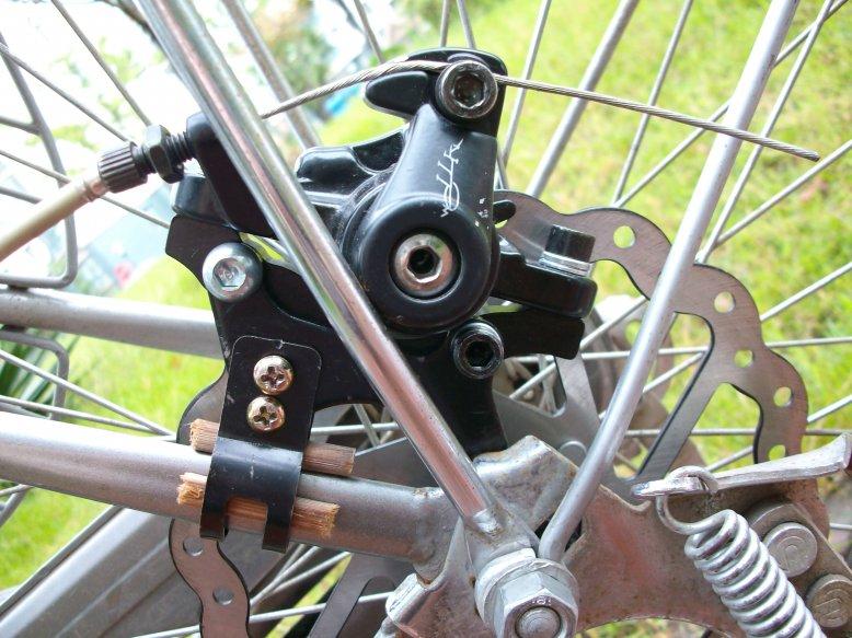 Как заменить на велосипеде тормоза на дисковые?