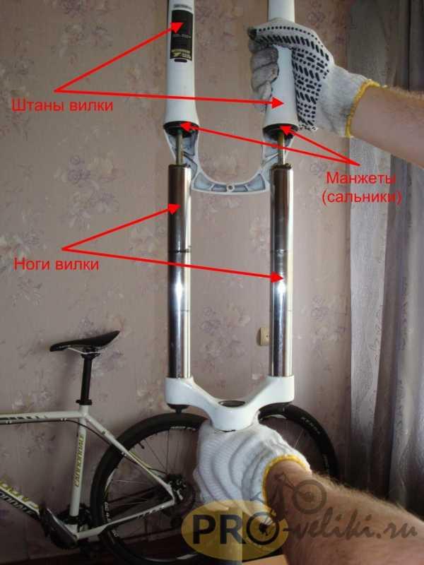 Регулировка вилки на велосипеде – как настроить и отрегулировать