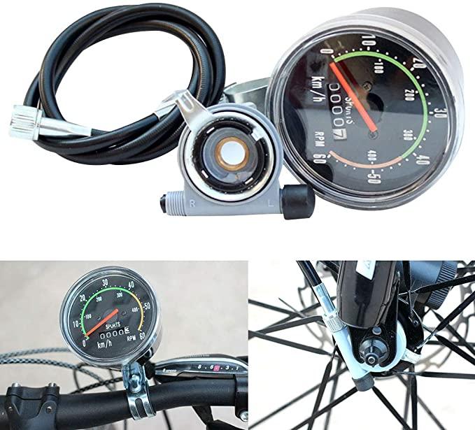 Спидометр на велосипед: механический, электронный, как его установить