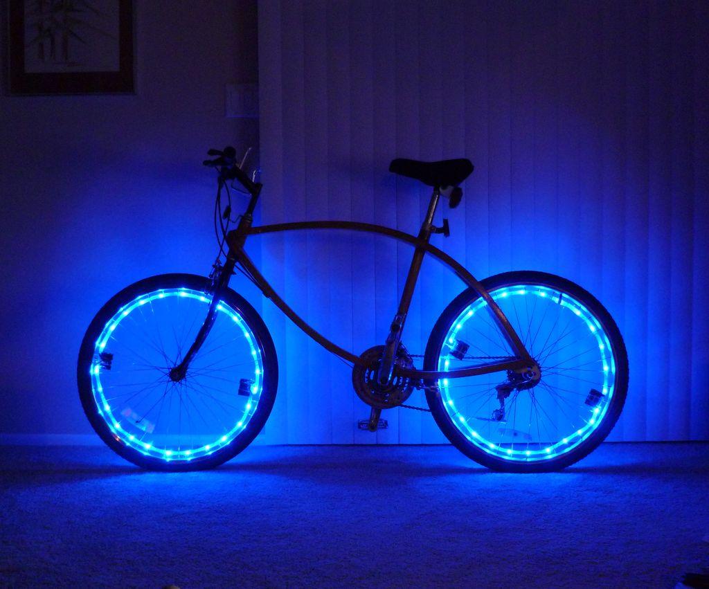 Подсветка для велосипедных колес