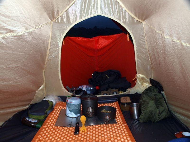 Выбор палатки для туризма