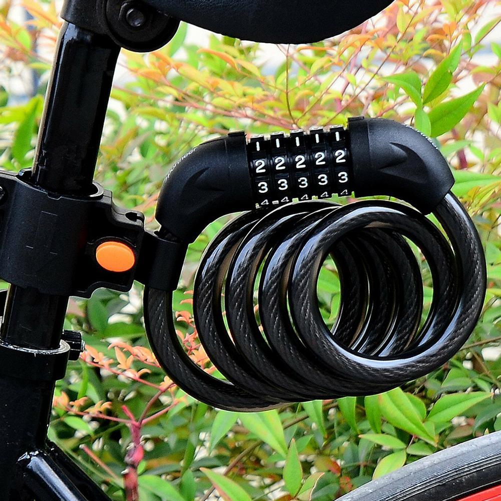 Открыть кодовый велосипедный замок