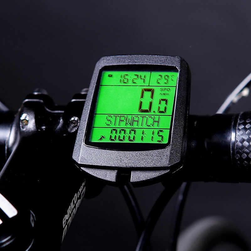 Электронный спидометр для велосипеда sb-318