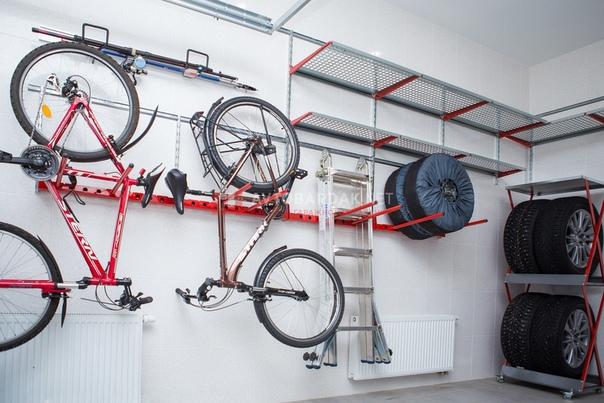 Куда пристроить велосипед зимой