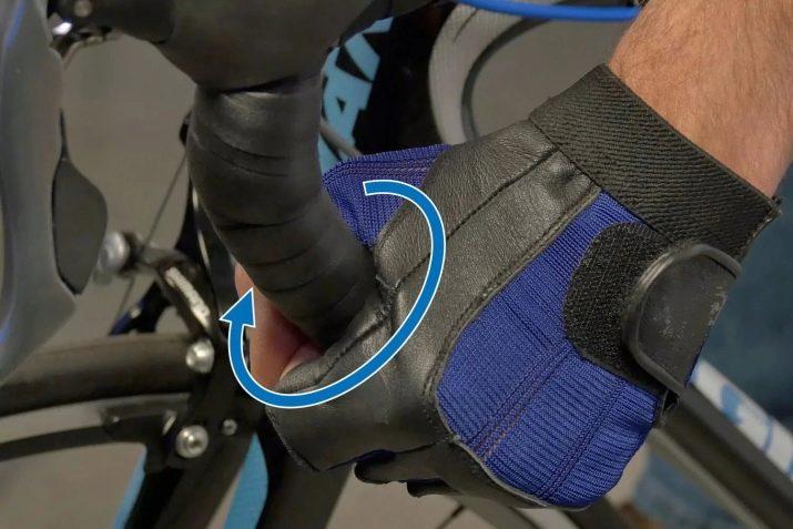 Обмотка руля для шоссейного велосипеда,как намотать кожаную ленту своими руками