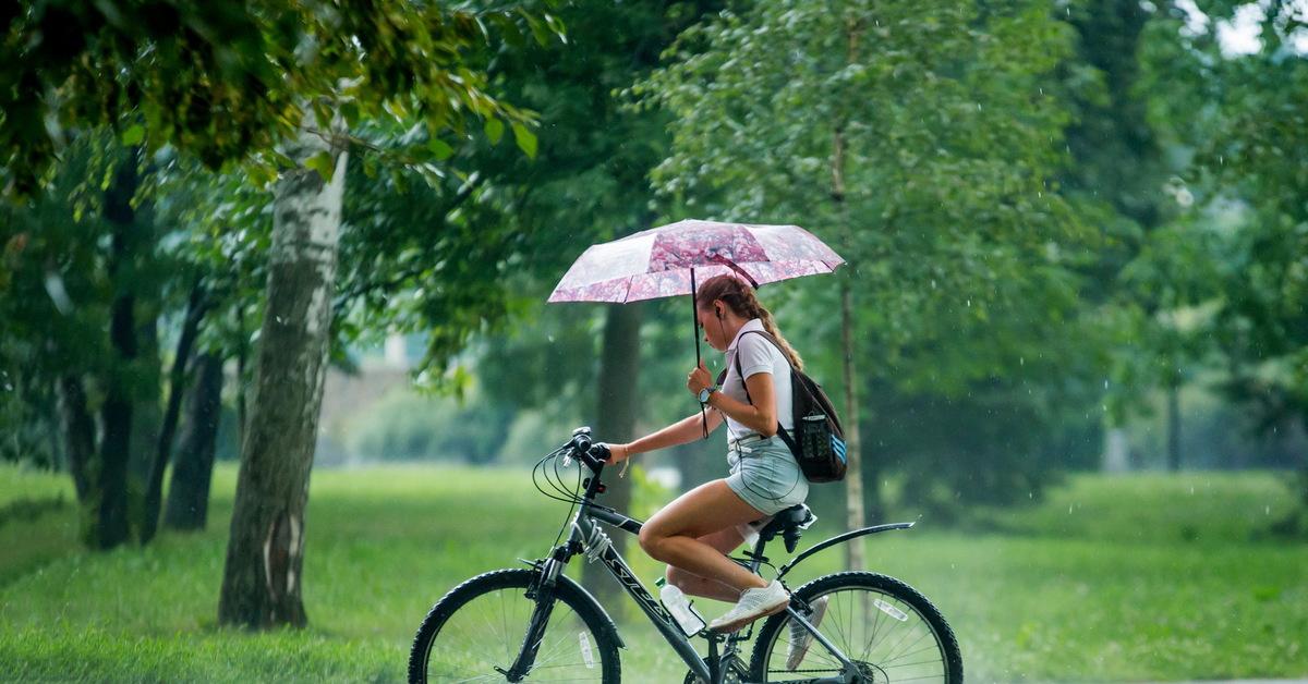 Как защититься от дождя на велосипеде? | kryptobike tm