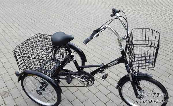 Трехколесные велосипеды - 4 предложения  в москве, сравнить цены и купить