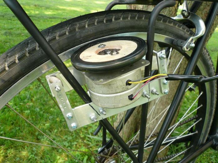 Электроколесо для велосипеда и его установка своими руками