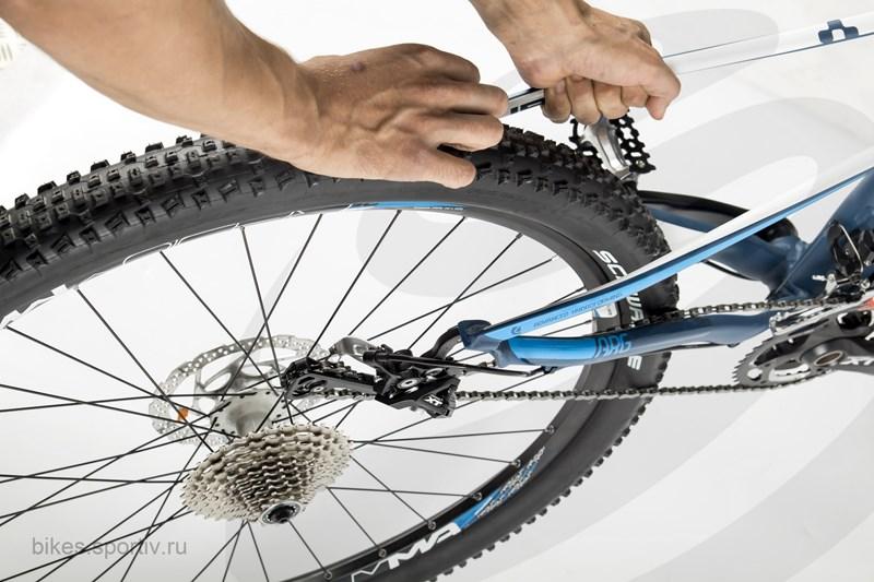 Как убрать люфт заднего и переднего колёса на велосипеде