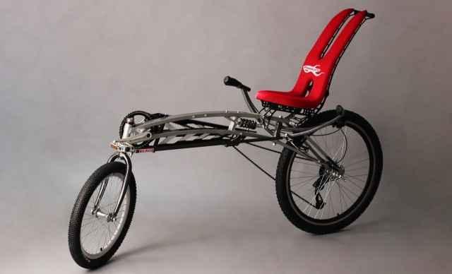 Как сделать лежачий велосипед лигерад своими руками