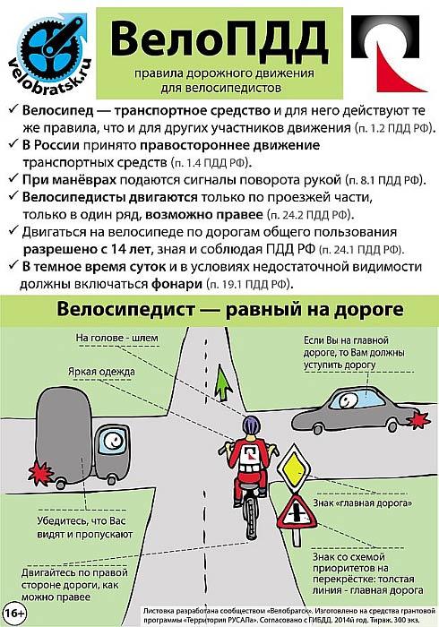 Штраф за превышение скорости на велосипеде — это не шутка: пдд для велосипедистов