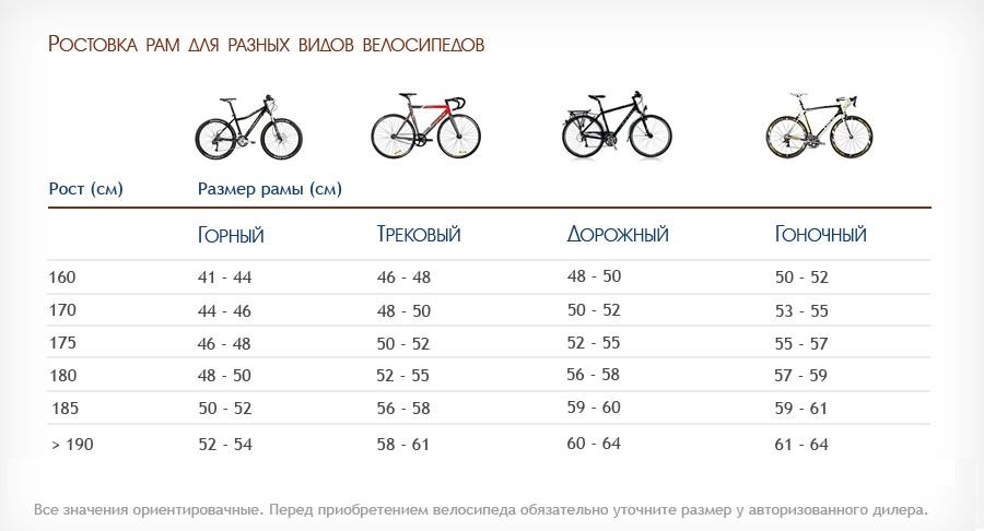 Как подобрать детский велосипед по росту
