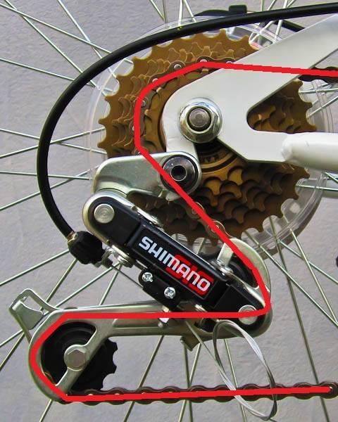 Как правильно снимать цепь с велосипеда?