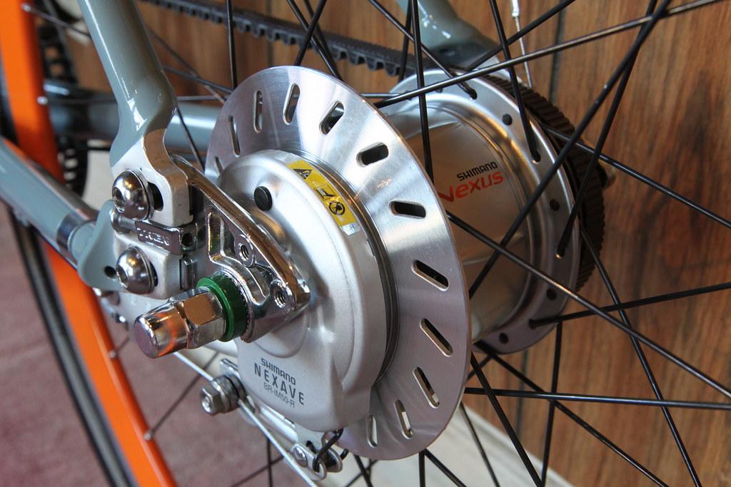 Роллерные тормоза для велосипедов