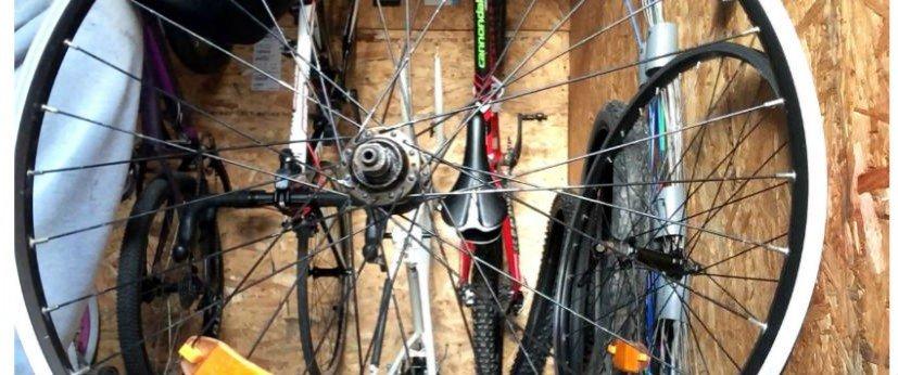 Как провести то велосипеда дома, смазка узлов