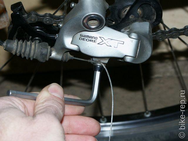 Инструкция: замена троса переключения передач на велосипеде