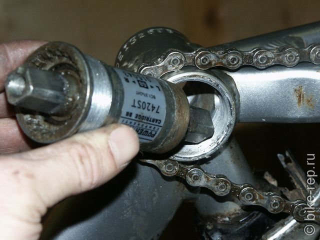 Типы шатунов велосипеда