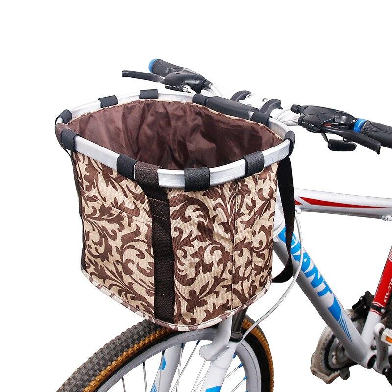 Как закрепить корзину на велосипед