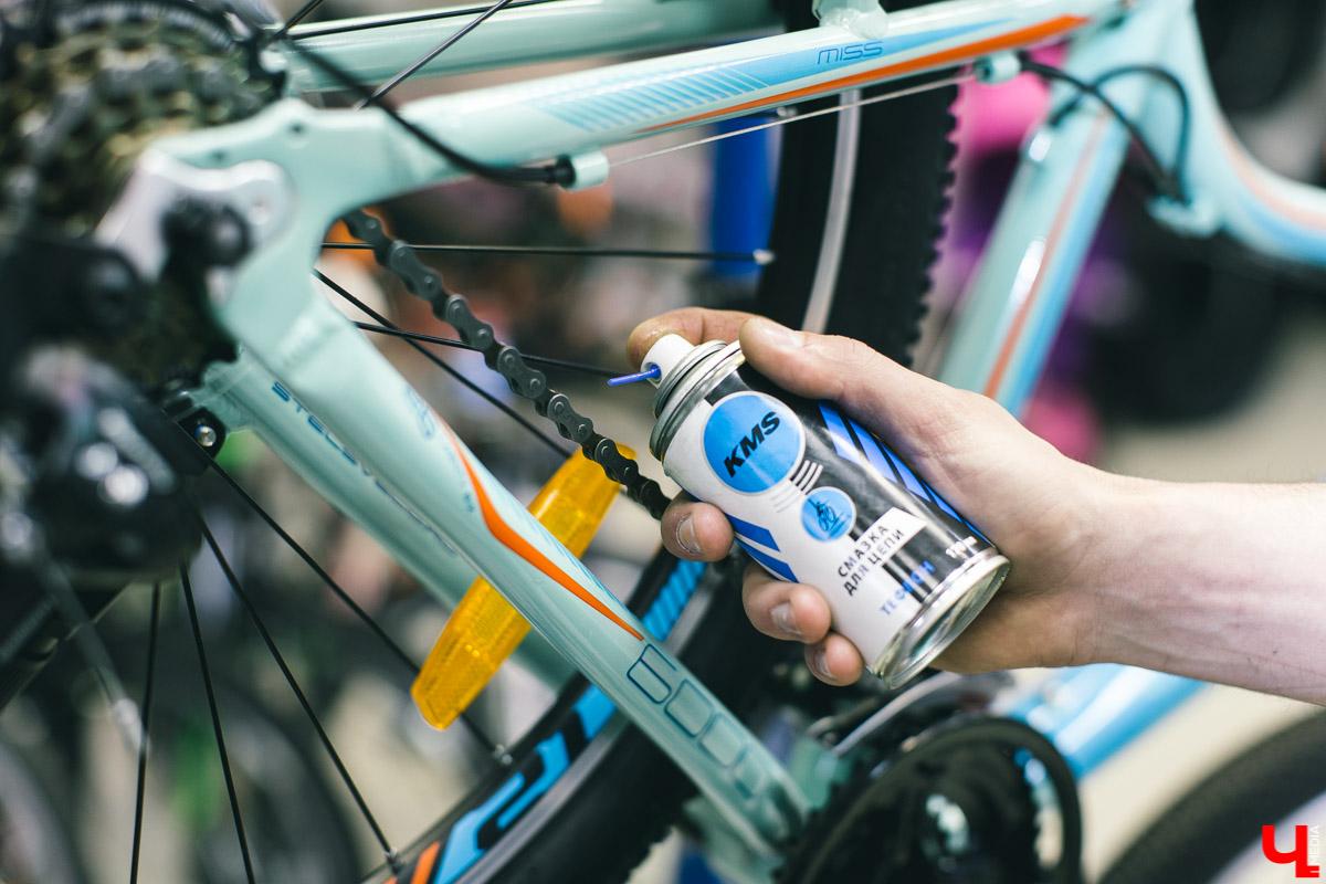 Как применять разные виды смазок для элементов велосипеда