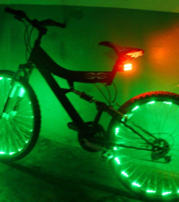 Тюнинг велосипеда аист
