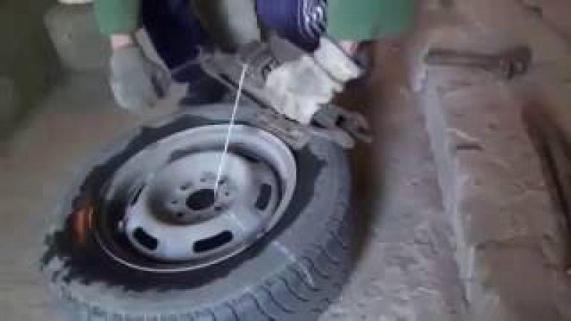 Как бортировать колесо на велосипеде