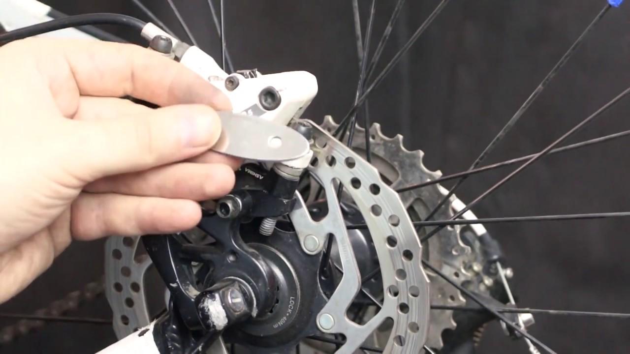 Как отрегулировать дисковые тормоза на велосипеде?