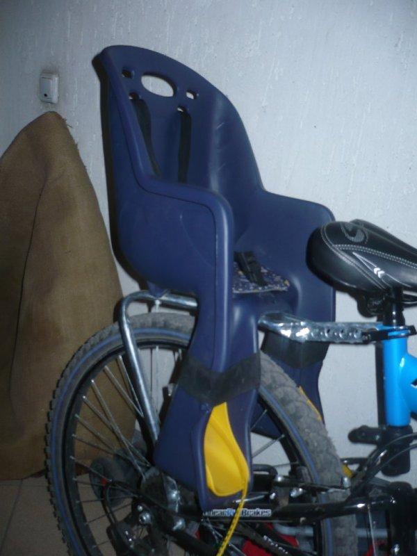 Выбираем детское велокресло