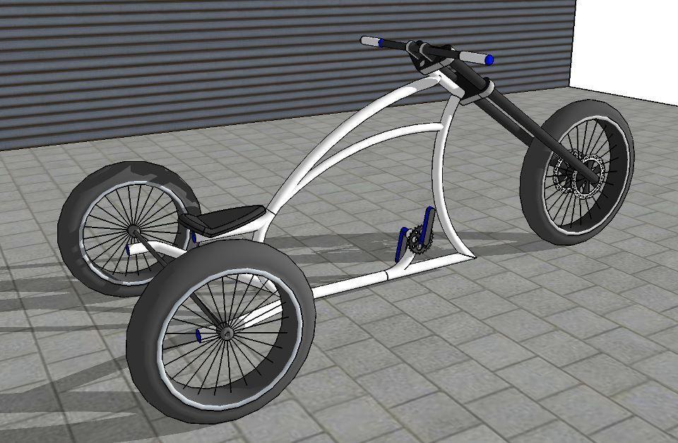 Велосипед чоппер своими руками