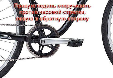 Как снять педали с велосипеда, их ремонт и обслуживание