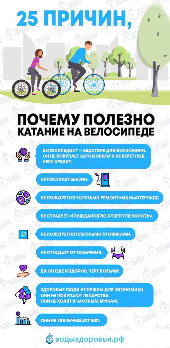 Что полезно пить, катаясь на велосипеде